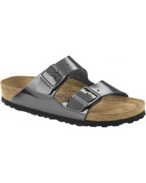 Birkenstock Classic Arizona - SFB Metallic Anthracite
