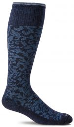Compressiesok Damask - Navy