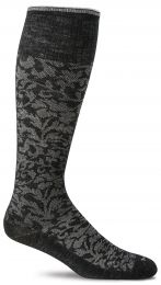 Compressiesok Damask - Black