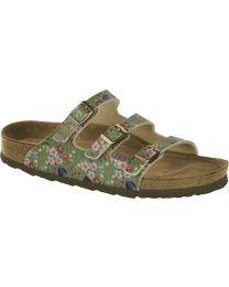 Florida - Meadow Flowers Khaki Soft Footbed