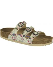 Florida - Meadow Flowers Beige Soft Footbed